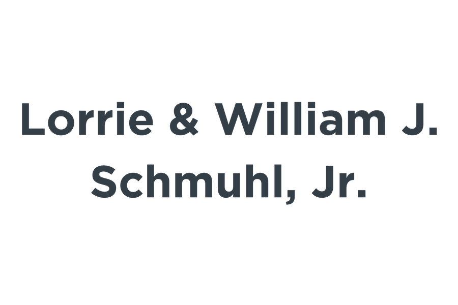 Lorrie & William J. Schmuhl, Jr.